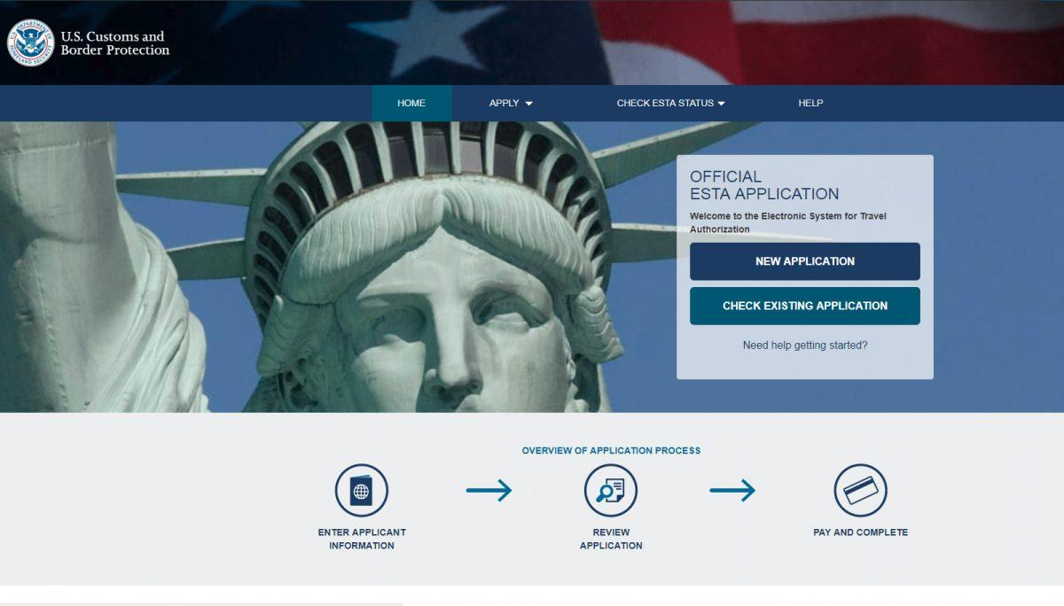 Quels sont les frais d'une demande ESTA en ligne?